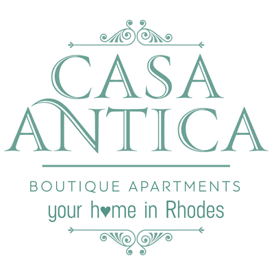 Casa Antika Boutique Apartments, Rhodes Retina Logo