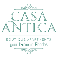 Casa Antika Boutique Apartments, Rhodes Logo